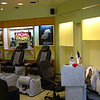 Pedicure stations, before
