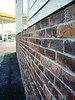 brick detail to match surrounding shopping center