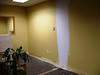 former office spaces being converted to conference room