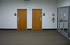 Restroom entrances