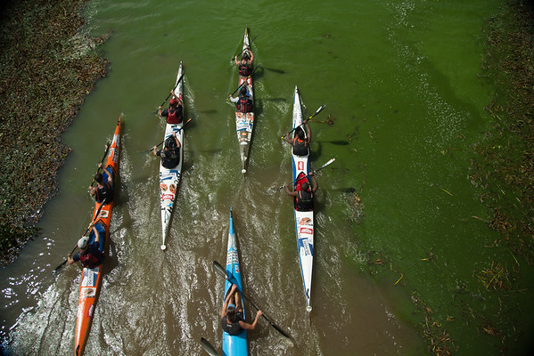 This time next year, many more hopefuls will be paddling through the sludge of Soweto for the slim hope for glory.