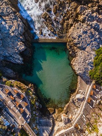 Ficks tidal pool, Hermanus, South Africa