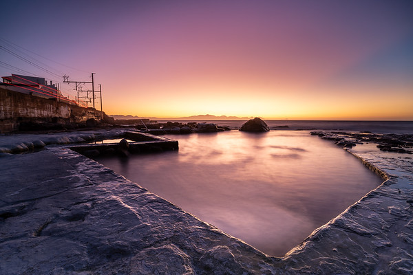 Wooley's tidal pool, Cape Town 2020