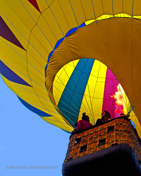 Great Falls Balloon Festival. Lewiston, Maine. Down East Magazine.
