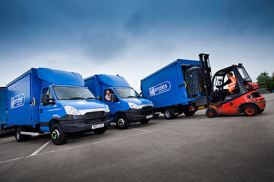 Photoshoot for Menzies Distribution and Ryder Truck Hire...