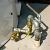 Outdoor vertical tank manual shut off