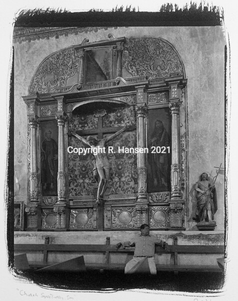 Plate # 4, Church Sanctuary, Southern Mexico