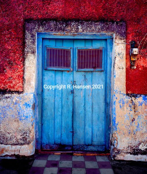 Blue Door @R  Hansen 2019
