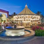 Fountain and carousel-Irvine Spectrum