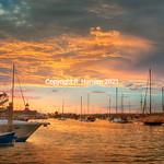 Newport Harbor, @ R  Hansen 2015