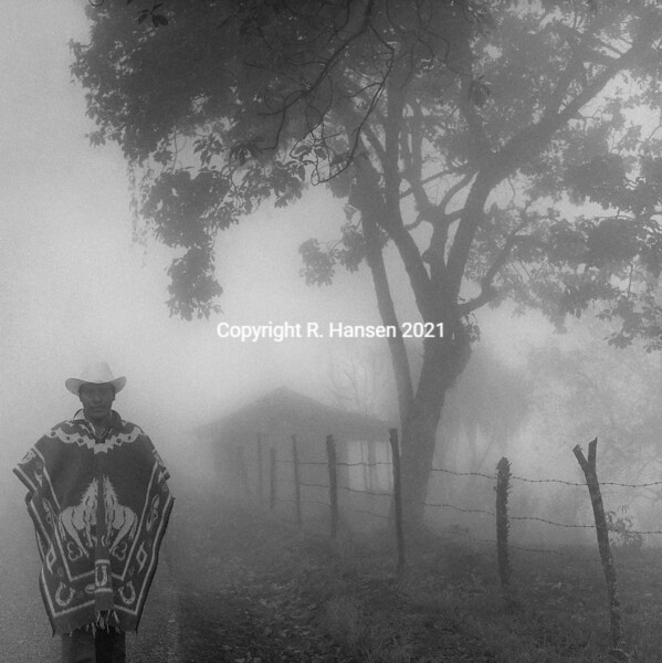 Plate # 43, Man in Fog, Southern Mexico