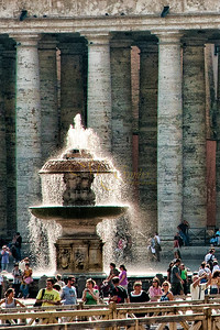 St  Peter's fountain