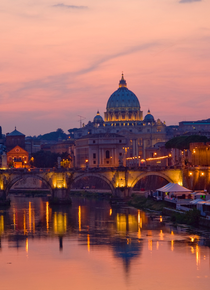 Sunset on Vatican