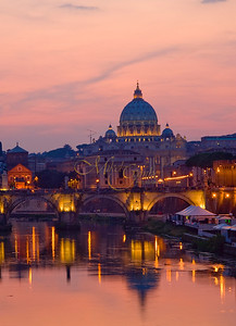 Sunset on Vatican