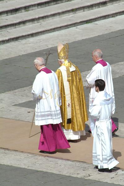 Papal walk