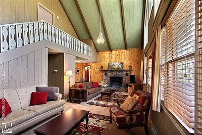 Chalet #10 Living Room