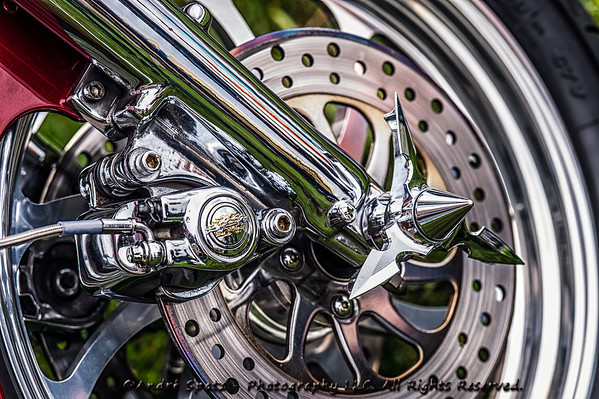 Cool Bike wheel - NJ Biker's Event 9-29-2012