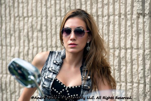 Model : Rania, NJ Biker's Event 9-29-2012