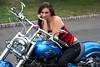 Model :Amanda, NJ Biker's Event 9-29-2012