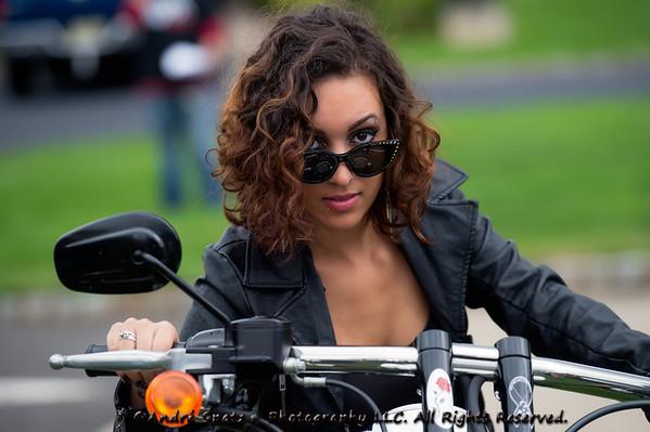 Model : Felicia, NJ Biker's Event 9-29-2012
