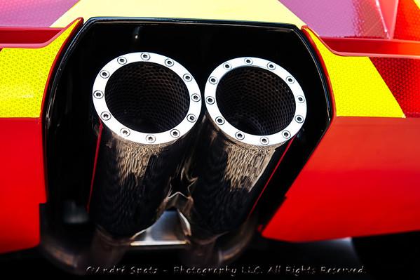 Lamborghini exhaust