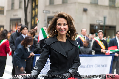 Parade past Grand Marschal: Susan Lucci
