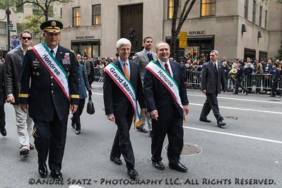 Honorees: Genral Odierno, Mr. Nardelli and Grand Marschall Gabelli