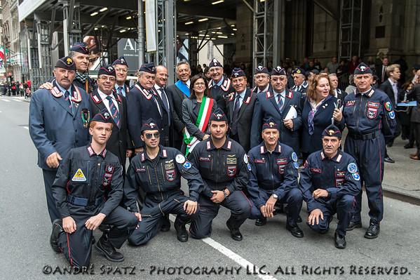 Associazione Nationale de Carabinieri, 1 Squadra Aerea, Sbaudia 145, Italy