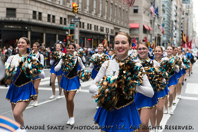 West Islip High School, NY - Marching Lions.