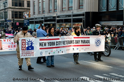 2012 NYC Veterans Day parade