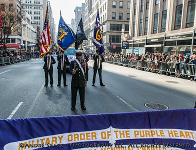 Military Order of the Purple Heart- one of the highest Military combat honors