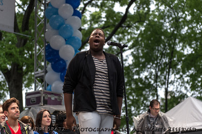 Alex Newell (Glee- TV series) - Singer and Actor.