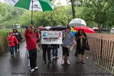 In Memory- walking at the 2013 AIDS WALK NY