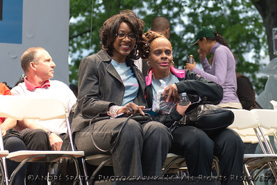 Marjorie J. Hill, PhD, CEO of GMHC