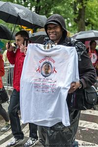 In Memory- walking at the 2013 AIDS WALK NY