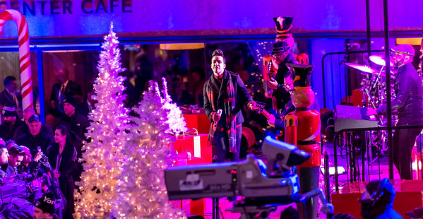 Prince Royce performs at the 82nd Annual Rockefeller Center Christmas Tree Lighting Ceremony