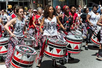 Batala NYC afrobrazilian samba reggae