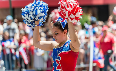 """Dancer from the """"Estrellas Tropicales de Boston"""""""