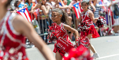 The 2014 Mascota of the Little Branches of Borinquen, Bronx NY