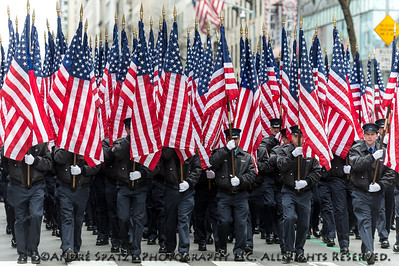 343 Honor Company. FDNY Color Guard - FDNY Banner