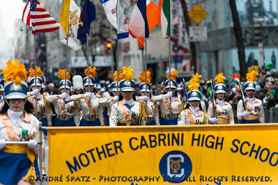 Mother Cabrini High School Band