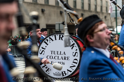 Tulla Pipe Band, Tulla, Co Clare Ireland   County Clare P.B. & S. Association of New York