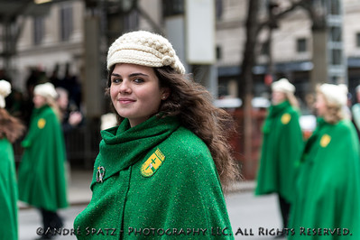 Member of the The Mullaghduff Pipe Band Donegal, Ireland