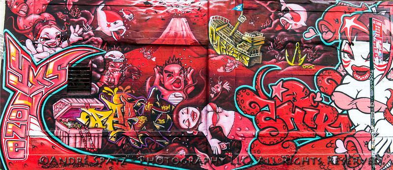 Graffiti By Japanese artist Shiro - Shiro & Yes1