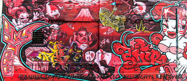 Graffiti By Japanese artist Shiro - Shiro & Yes1