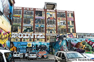 The 5 Pointz Graffiti Area