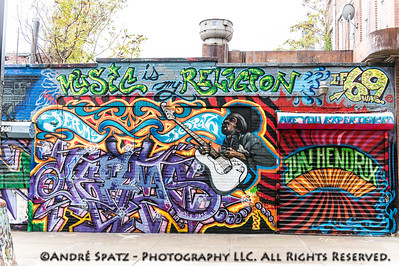 Graffiti in 5 Pointz - Music is my Religion