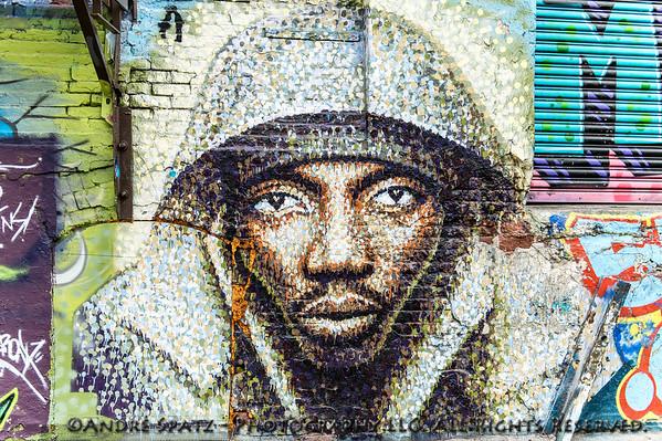 """Graffiti by  James Cochran """"Subway Rider"""""""