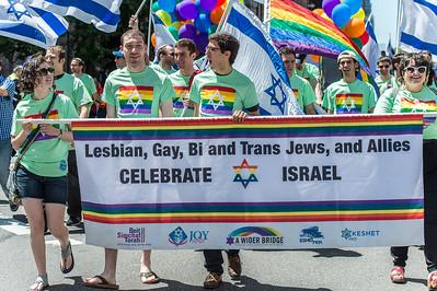 Lesbian, Gay, Bi and trans Jews delegation