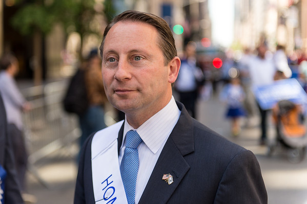 Robert P. Astorino -Westchester County Executive and NY Governor candidate. Honorary Grand Marshal